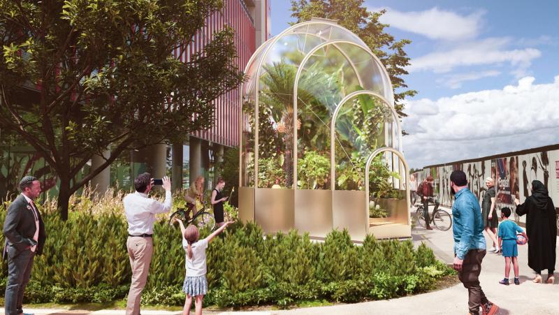 Londono dizaino festivalis: Rytų Londonas kviečia į ... tropikus