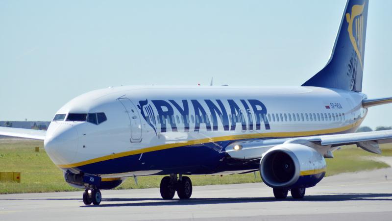 """""""Ryanair"""" dar labiau mažina savo pajėgumus, spalį nukirps dar 20 proc."""