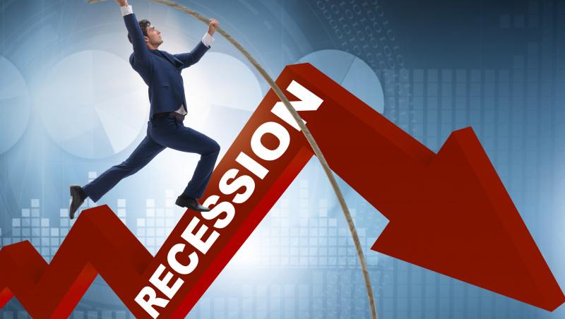 JK ekonomika traukėsi mažiau, tačiau nuosmukis vis tiek buvo didžiausias istorijoje