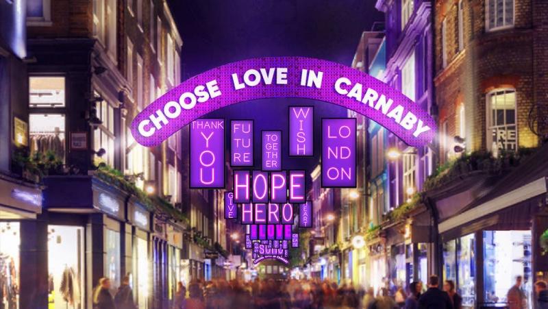 Nepaisant plintančio koronaviruso, Londonas ir šiemet džiugins kalėdinėmis šviesomis