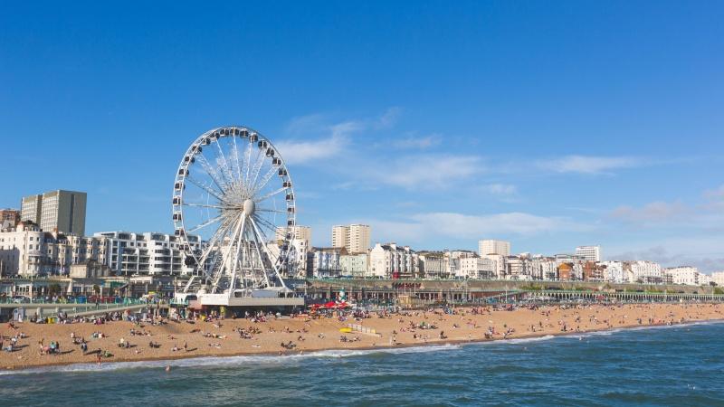 Kelionės JK: meilės laiškas Brighton'ui