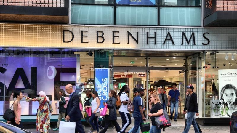 """JK bankrutuoja universalinių parduotuvių tinklas """"Debenhams"""""""