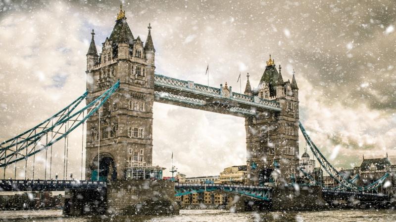 Žiema atėjo: Londone žadamas pirmasis sniegas