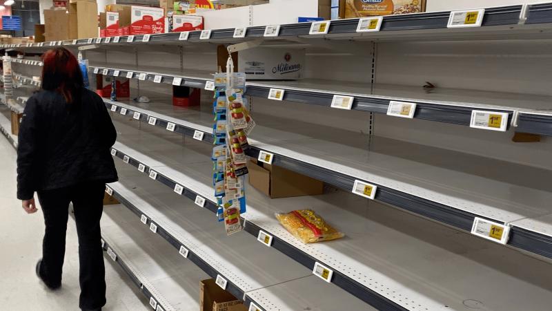 """Šiaurės Airijoje trūkstant produktų iš Britanijos, kaltina """"Brexit"""""""