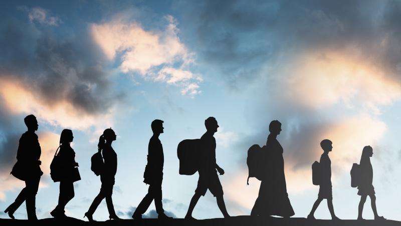 JK pertvarkoma prieglobsčio sistema, kovos su žmonių kontrabandininkais