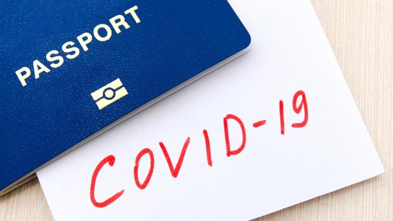 """Išbandyti COVID-19 pasus šalies viduje būtų """"teisingas sprendimas"""" – JK ministras"""