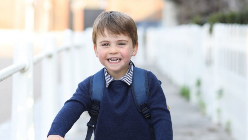 JK princui Louis sukanka treji: paūgėjęs princas pradeda eiti į darželį