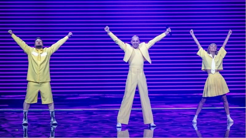 """Geltonoji """"The Roop"""" diskoteka užtikrino Lietuvai vietą """"Eurovizijos"""" finale"""