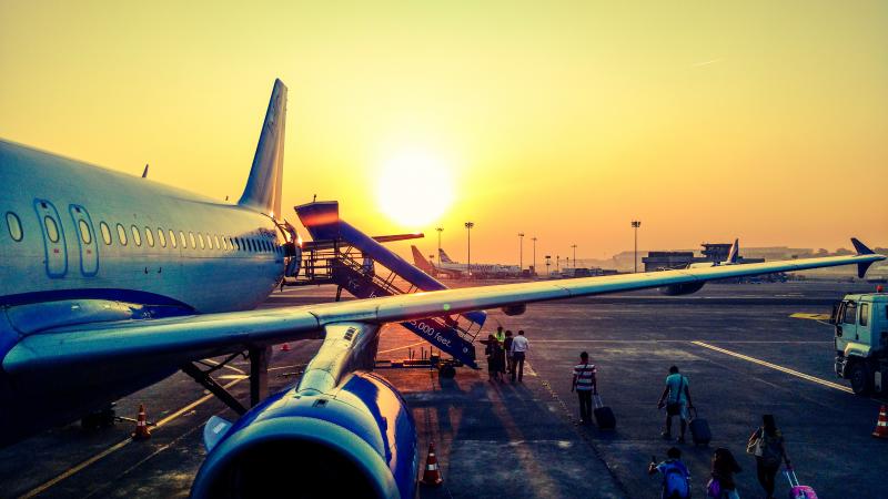 Kelionių draudimas skandina britų oro linijas