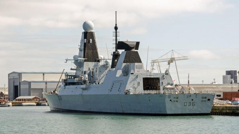 Britų atsakymas į rusų pareiškimus dėl jų apšaudyto JK laivo: nieko nebuvo!