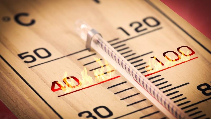 Mokslininkai perspėja: termometro stulpelis JK gali reguliariai pakilti iki 40 laipsnių karščio