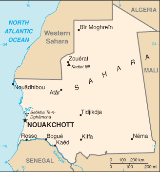 Mauritanijoje įvykdytas perversmas, suimti prezidentas ir premjeras