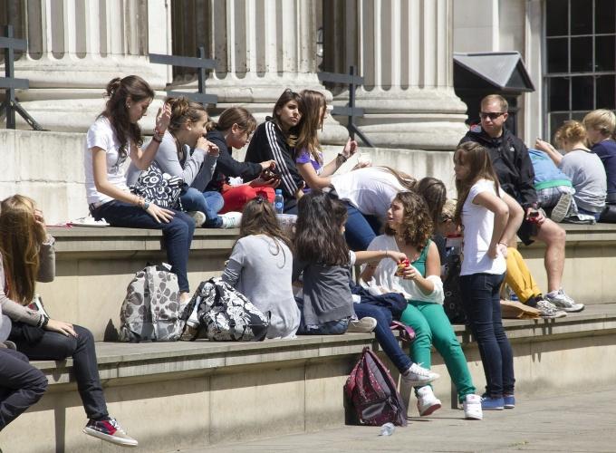 Londone nusikalstamos gaujos vilioja vaikus nusikaltimams atlikti
