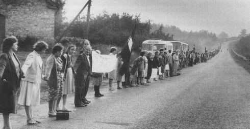 Kalnų parke bus smerkiamas Molotovo - Ribentropo paktas ir prisimenamas Baltijos kelias