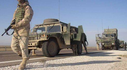 Irake suimtas JAV karys, kaltinamas dviejų tarnybos draugų nužudymu
