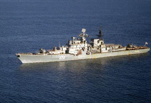 Rusų karo laivai išplaukė į Venesuelą