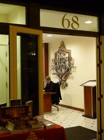 Scientologai Londone įtraukia ir lietuvius