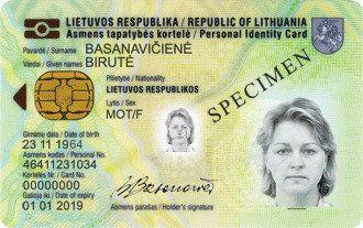 Asmens tapatybės kortelė – turto deklaravimui