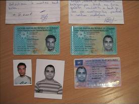 Klastojamos naujo pavyzdžio asmens tapatybės kortelės