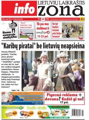 """""""Karibų piratai"""" be lietuvių neapsieina"""