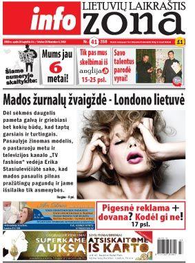 Mados žurnalų žvaigždė – Londono lietuvė