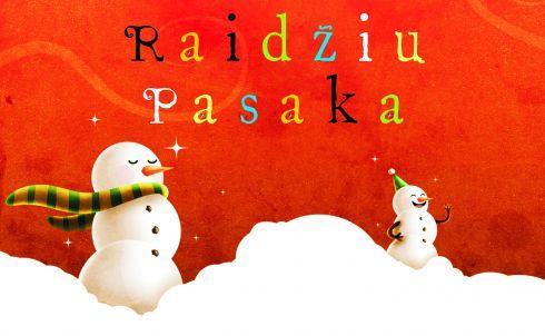 """Kalėdų spektaklis """"RAIDŽIŲ PASAKA"""""""