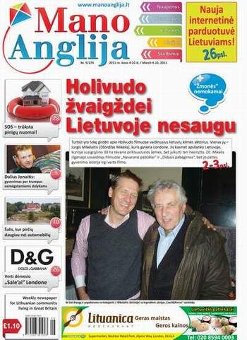 Holivudo žvaigždei Lietuvoje nesaugu