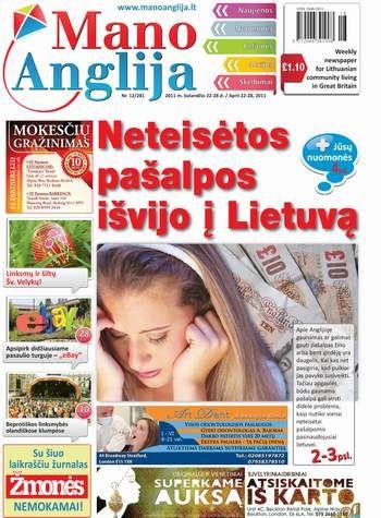 Neteisėtos pašalpos išvijo į Lietuvą