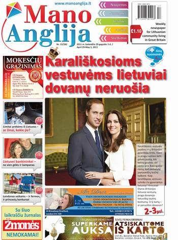 Karališkosioms vestuvėms lietuviai dovanų neruošia