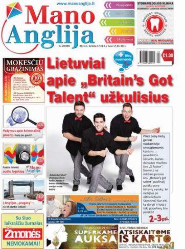 """Lietuviai apie """"Britain's Got Talent"""" užkulisius"""