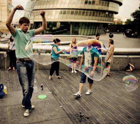 """""""Burbuliatorius"""" - kas antrą pirmadienį Londone"""