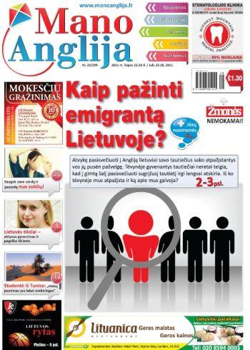 Kaip pažinti emigrantą Lietuvoje?