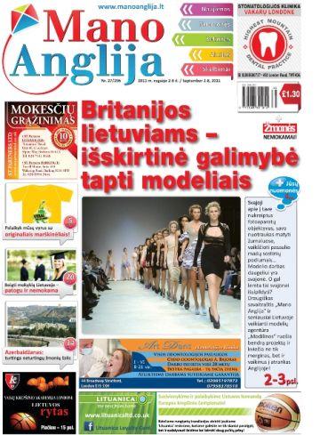 Britanijos lietuviams – išskirtinė galimybė tapti modeliais
