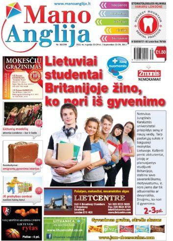Lietuviai studentai Britanijoje žino, ko nori iš gyvenimo