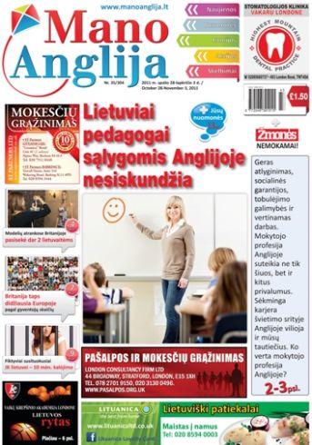 Lietuviai pedagogai sąlygomis Anglijoje nesiskundžia