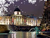 Kalėdinės varžytuvės Londono gyventojams