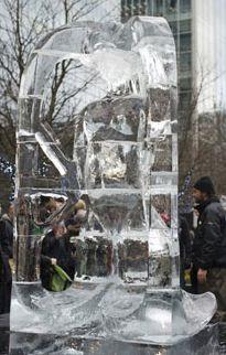 Londono ledo skulptūrų festivalis