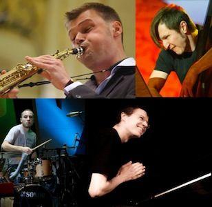 K.Vaiginio džiazo kvartetas koncertuoja Londone