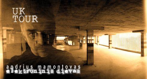 Andrius Mamontovas vėl koncertuos Didžiojoje Britanijoje ir Airijoje