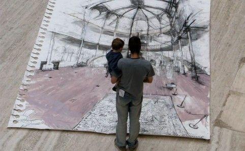 Didysis piešimo festivalis prasideda rugsėjo 30
