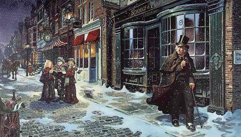 Kalėdos pagal Dikensą – naujai atidarytame muziejuje
