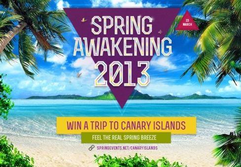 Laimėk kelionę į Kanarų salas!